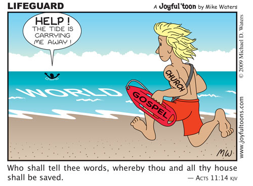 Lifeguard - Acts 11:14